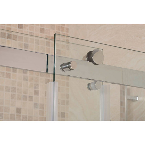 Aquafloe™ Elite II 8mm 1400 x 800 Frameless Sliding Door Shower Enclosure