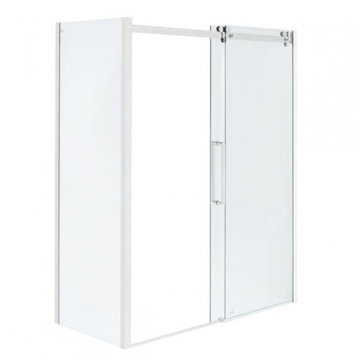 Trinity Premium 10mm 1600 x 800 Left Hand Frameless Sliding Door Enclosure
