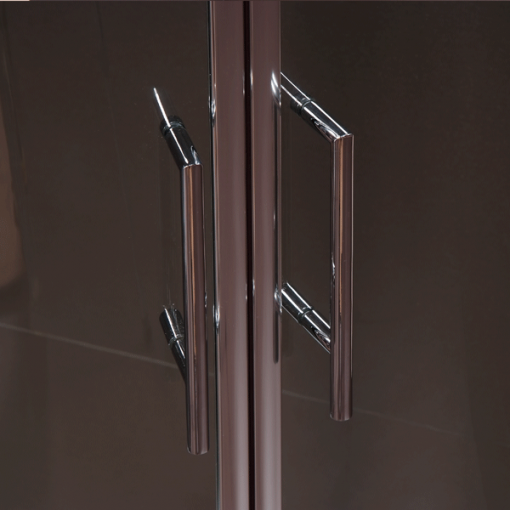 Aquafloe™ 800 x 800 Sliding Door Quadrant Enclosure with Shower Tray