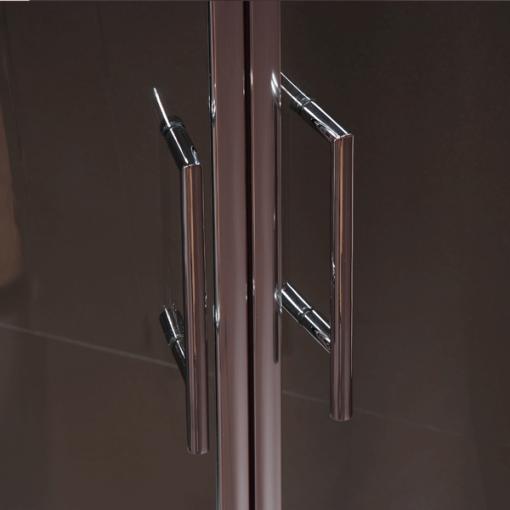 Aquafloe™ 900 x 900 Sliding Door Quadrant Enclosure with Shower Tray