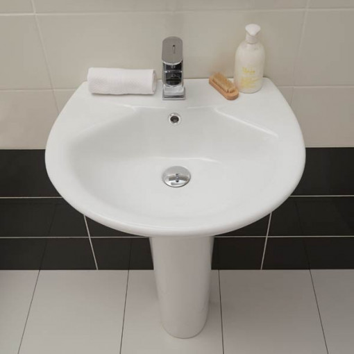 Prima Basin and Pedestal