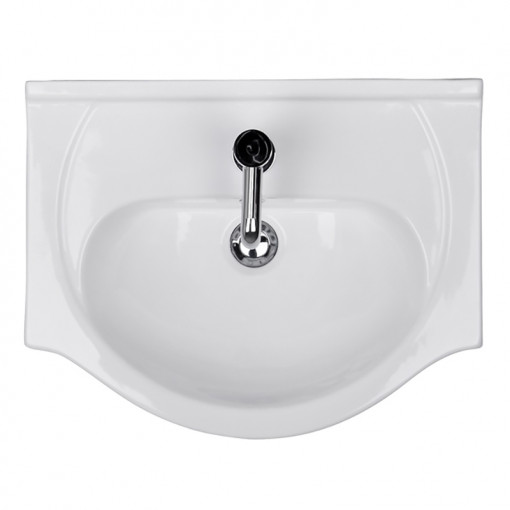 Windsor™ 55 White Vanity Basin Unit