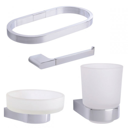 Santos Bathroom Accessory Pack