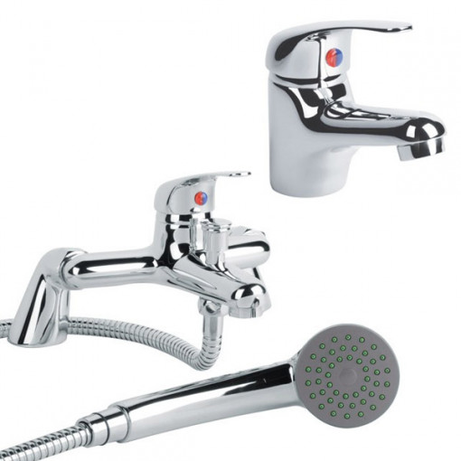 Alfa Basin Mono & Bath Shower Mixer