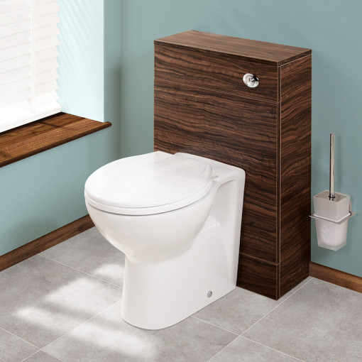 Aspen Walnut Back To Wall Unit & Tampa Toilet
