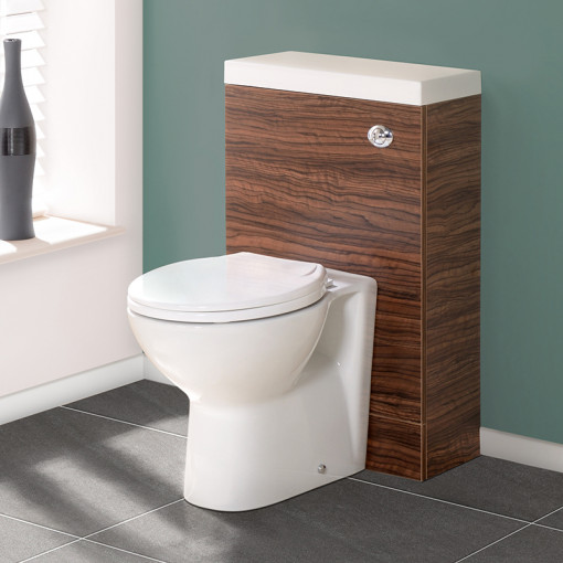 TD50 Walnut WC Unit with Tampa™ Pan