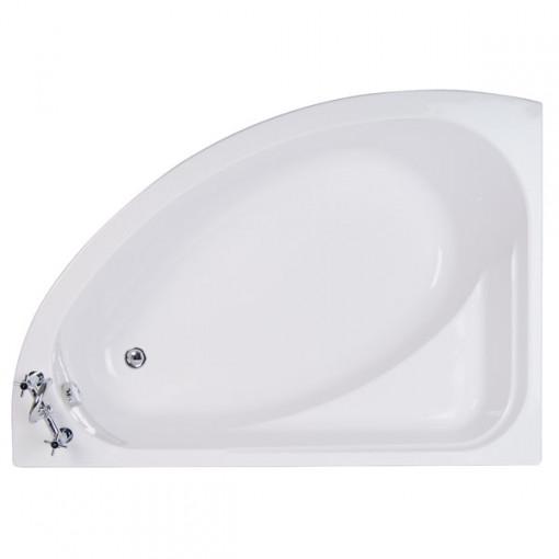 Vienna 1500 x 1040 Offset Left Hand Shower Bath