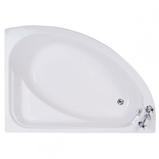 Vienna 1500 x 1050 Offset Right Hand Shower Bath
