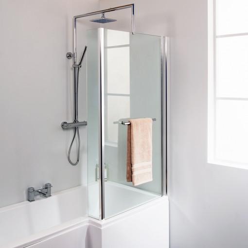 Veneto Right Hand Square Shower Bath Suite