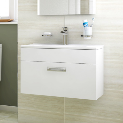 Aspen™ Compact 600 Wall Mounted Vanity Unit