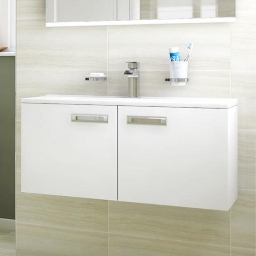 Aspen™ Compact 800 Wall Mounted 2 Door Vanity Unit