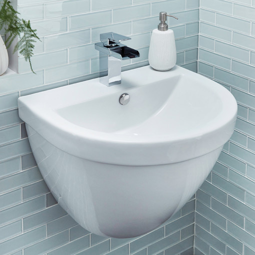 Aurora Wall Mounted Bathroom Suite