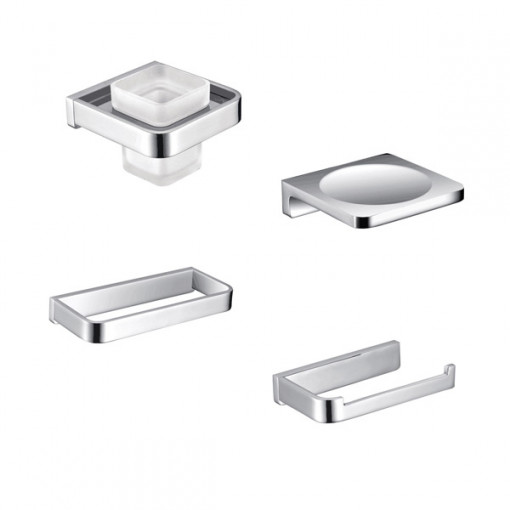 Avant 4 Piece Premium Bathroom Accessory Pack