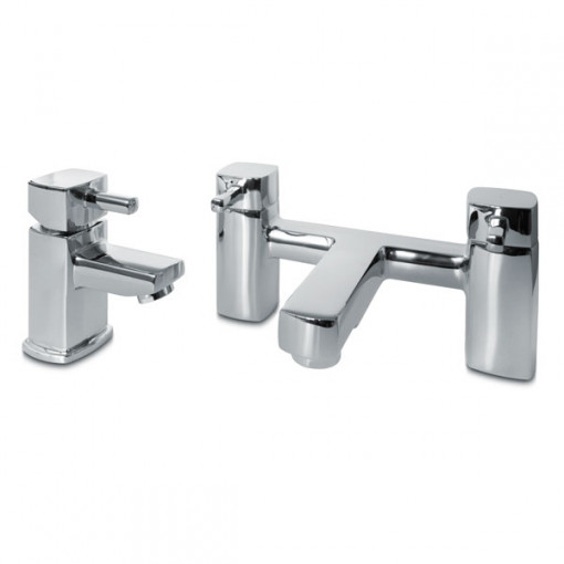 Seattle Veneto Freestanding Suite inc Taps & Waste