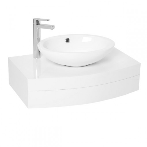 Kendra 800 Wall Mounted Basin Vanity Unit	with Basin Mixer Tap