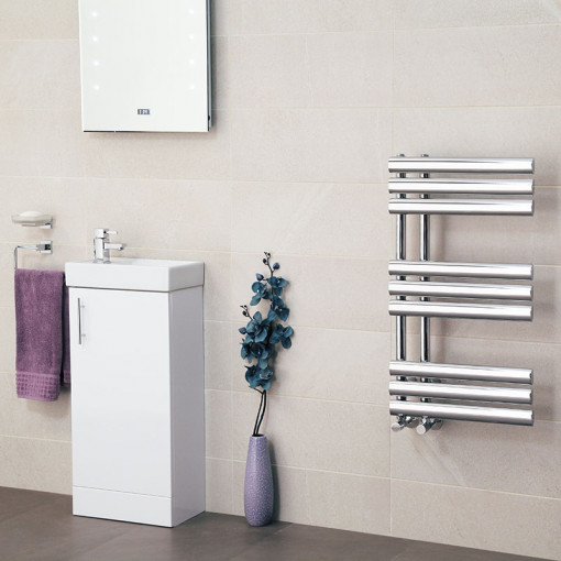 Finesse Designer 800 X 450mm Heated Towel Rail