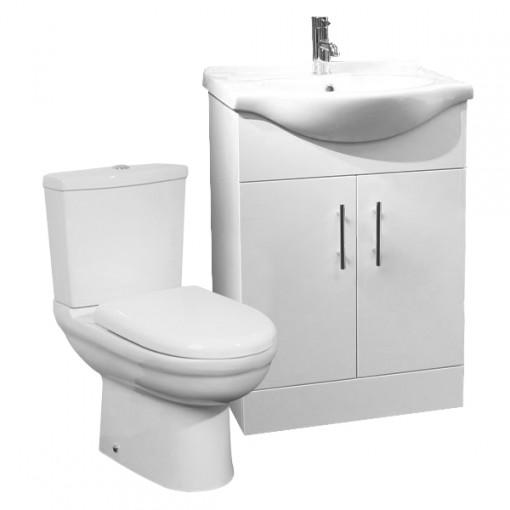Micro™ 55 White Furniture Pack