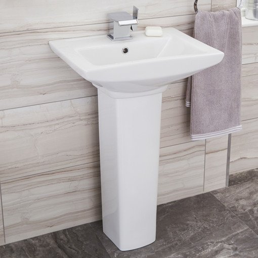 Modena Right Hand Square Shower Bath Suite