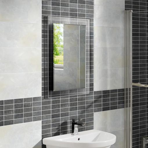 Lola bathroom mirror 700 h 500 w for Mirror 700 x 700