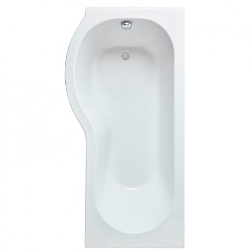 Maine P Shape Left Hand Shower Bath Suite