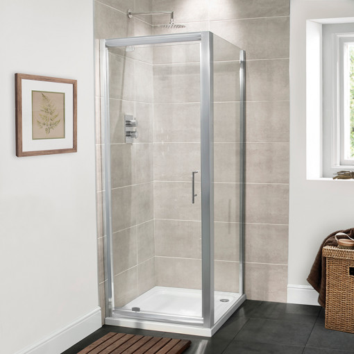 Aquafloe™ Premium 6mm 700 Pivot Shower Enclosure