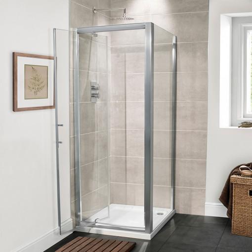 Aquafloe™ Premium 6mm 760 Pivot Shower Enclosure