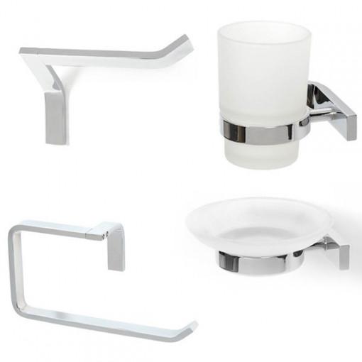 Rio Bathroom Accessory Pack