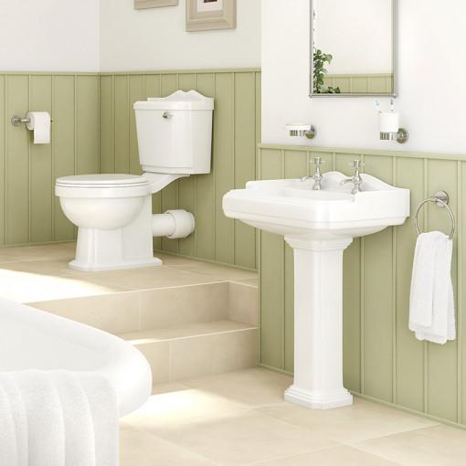 Legend Victoriana 2 Tap Hole Bathroom Suite
