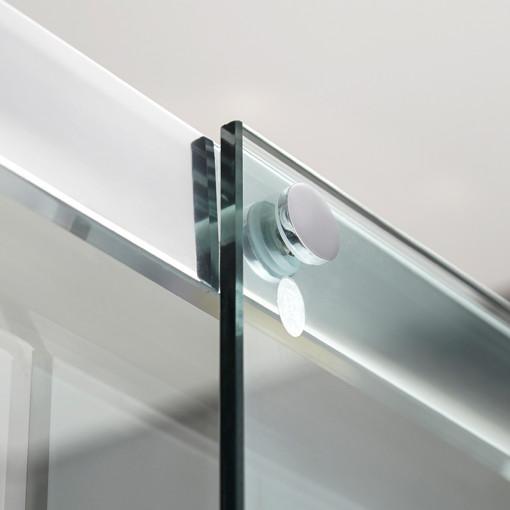 Aquafloe™ Iris 8mm 1700 x 800 Sliding Door Shower Enclosure