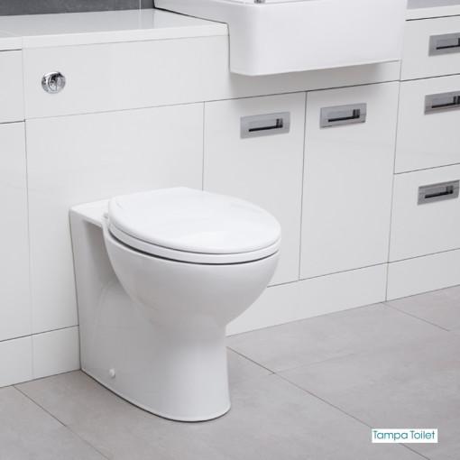 Cuba Toilet & Basin Right Hand Furniture Bathroom Suite