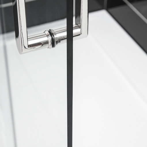 Trinity Premium 10mm 1200 x 760 Left Hand Frameless Sliding Door Enclosure