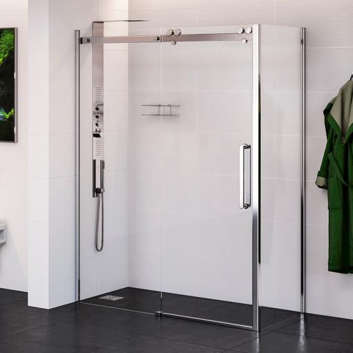 Trinity Premium 10mm 1700 x 800 Right Hand Frameless Sliding Door Enclosure