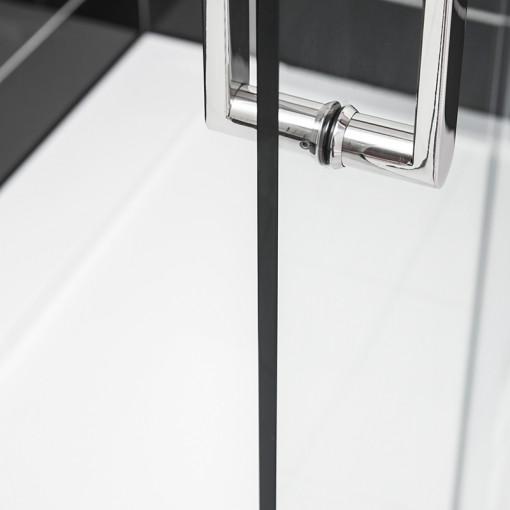 Trinity Premium 10mm 1400 x 760 Right Hand Frameless Sliding Door Enclosure