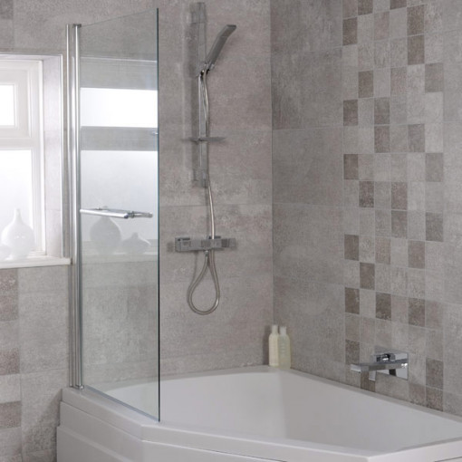Trio 1500 x 1000 Left Hand Shower Bath
