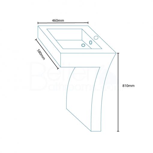 Seven Freestanding Basin