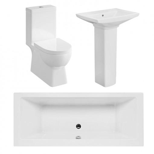 Modena™ Quatro 1700x750 Bath Suite Deal