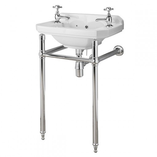 Park Royal™ 515 Cloakroom Basin with Washstand