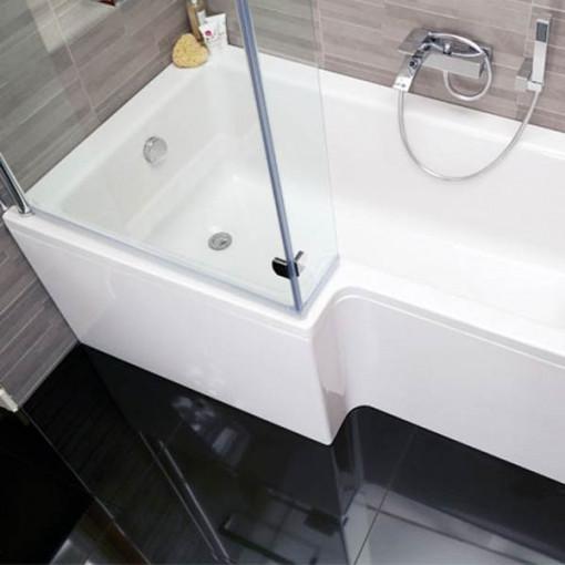 Veneto Verona Left Hand Shower Bath Suite