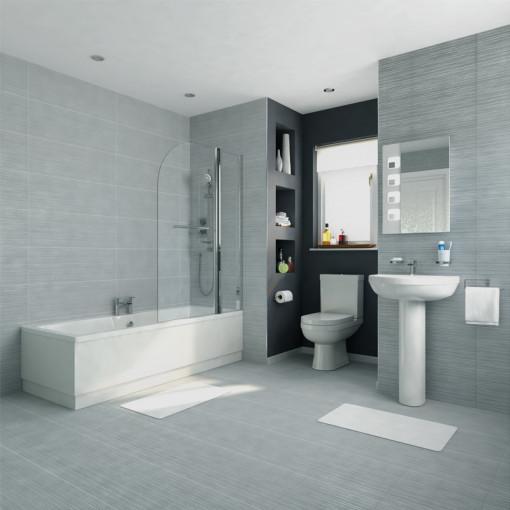 1500 Voss Dee Shower Bath Bathroom Suite