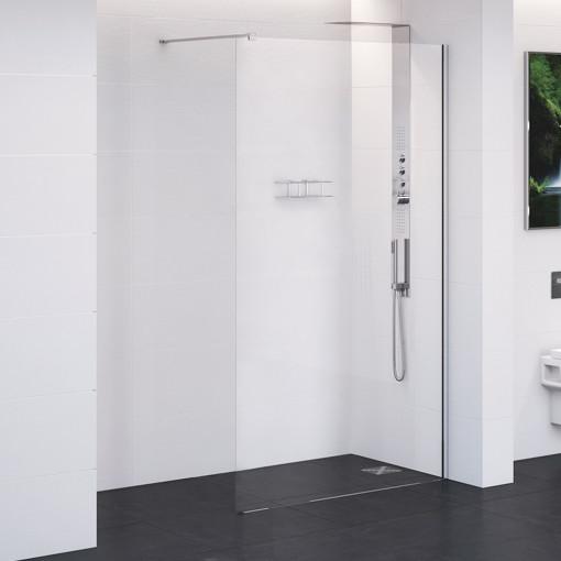 Trinity Premium 10mm 2000 x 760 Wet Room Shower Screen