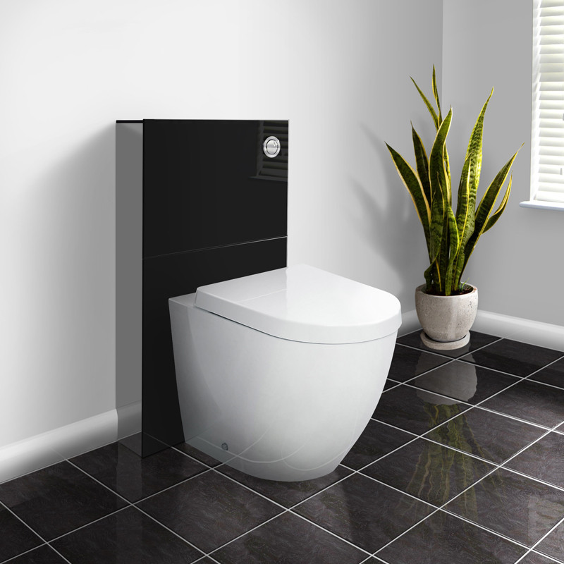 Deluxe Wc Unit And Concealed Cistern With Venus Back To Wall Toilet
