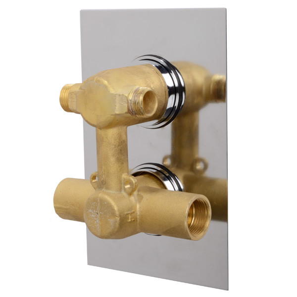 Ecostyle Concealed Dual Control Shower Valve With Diverter