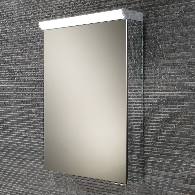 Ice Illuminated LED Mirrored Cabinet 700H 500W 150D