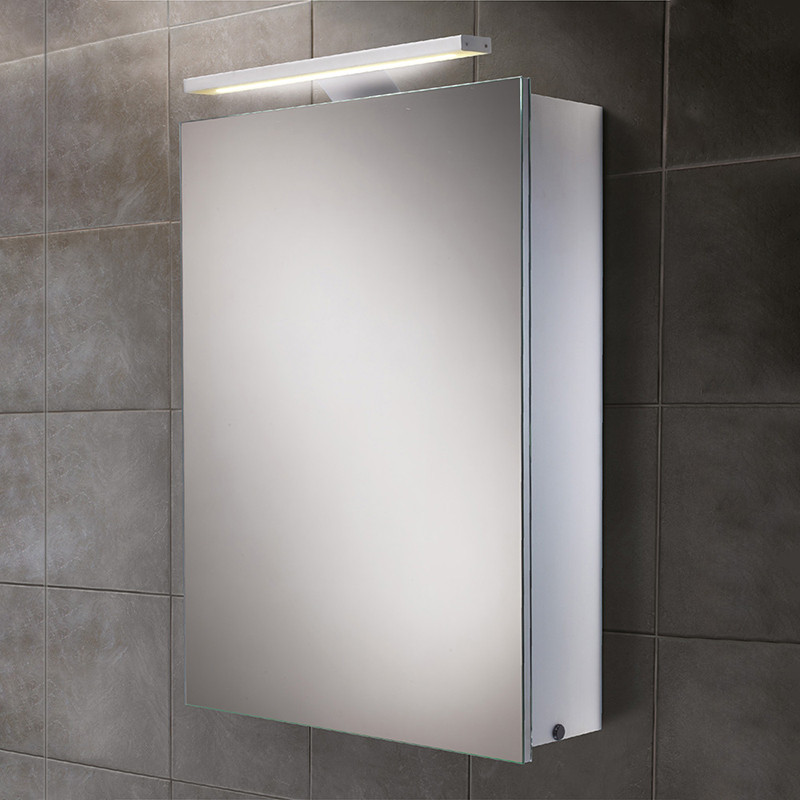 Galaxy Illuminated LED Mirrored Cabinet 700 750H 500W 155D