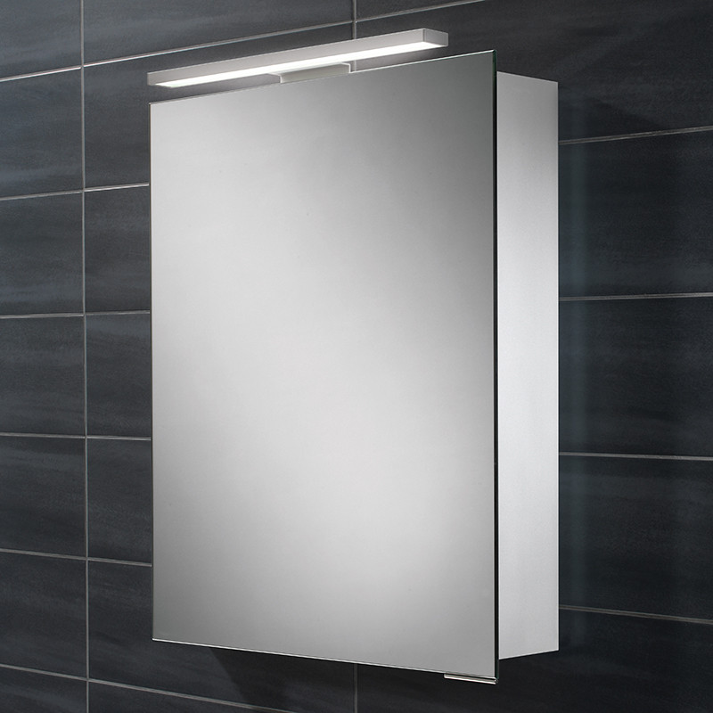 Pluto Illuminated LED Mirrored Cabinet 700 730H 500W 125D