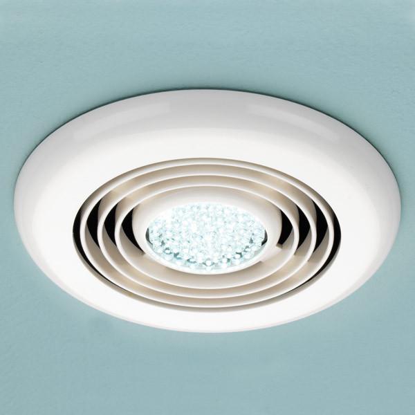 Cyclone Inline White Wet Room Fan