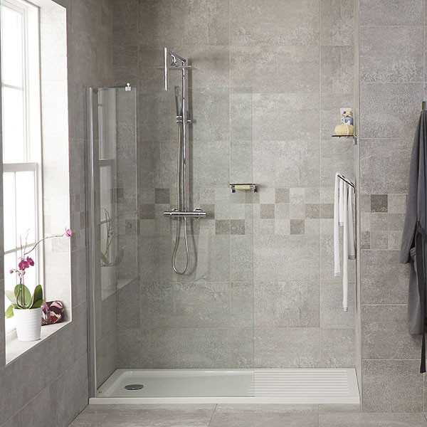 1850 X 1200 Walk In Glass Shower Screen