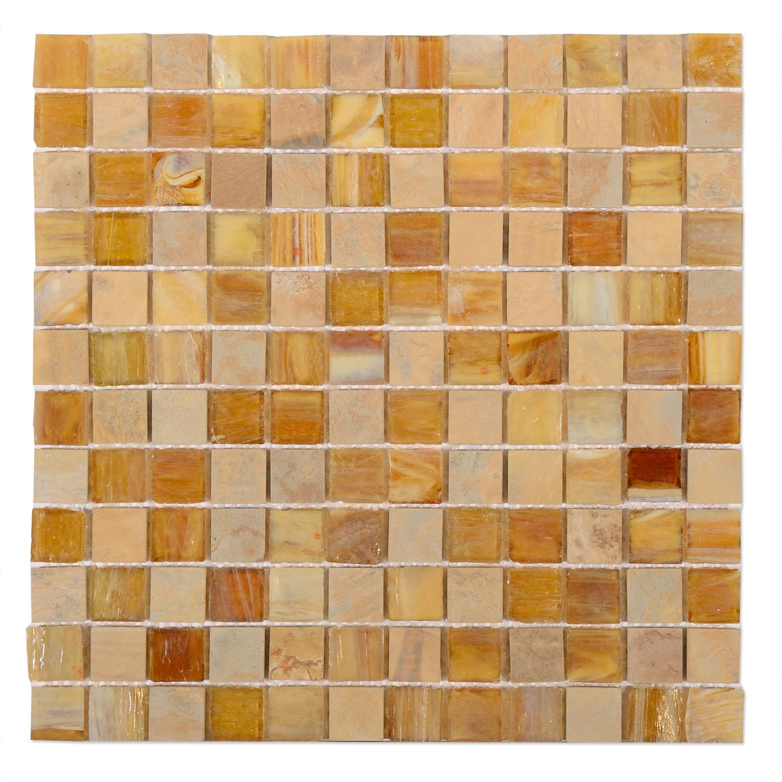 Coco Brown Mosaic