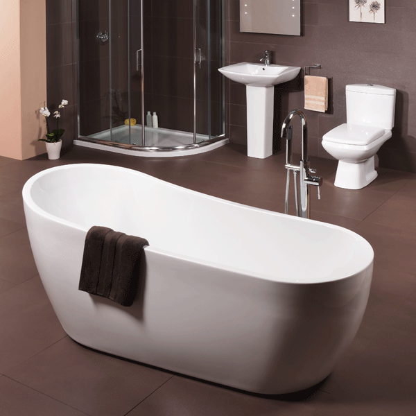 design 1680 slipper bath. Black Bedroom Furniture Sets. Home Design Ideas