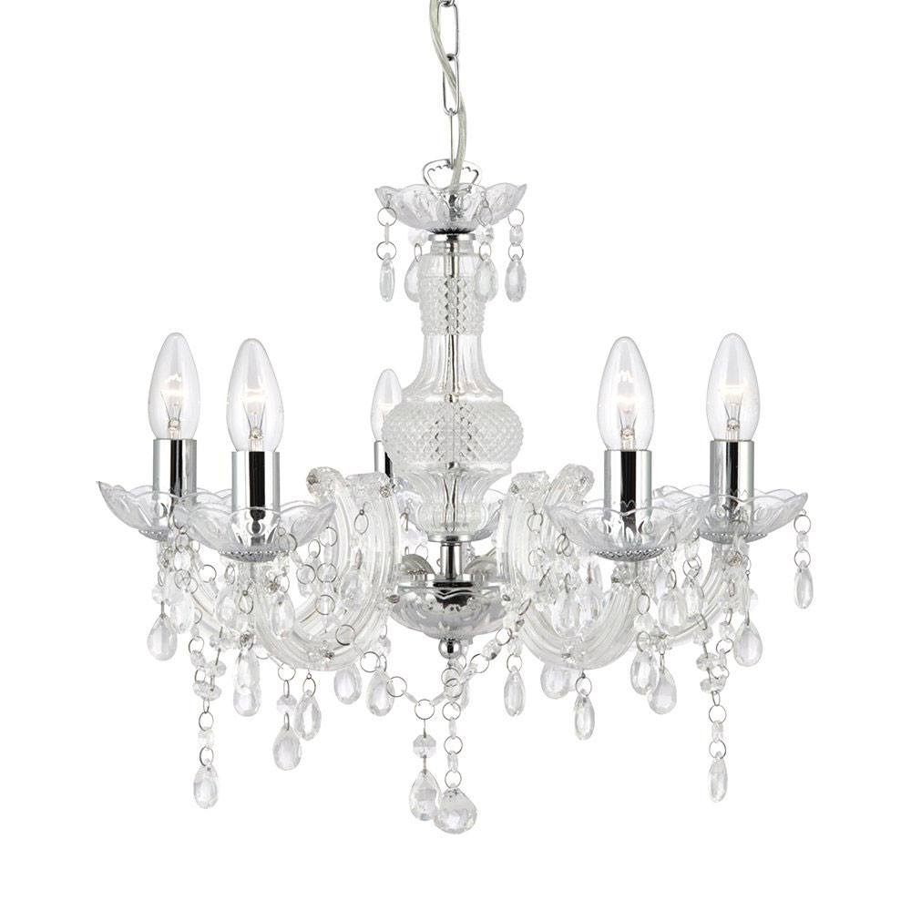 Marie therese clear acrylic chandelier arubaitofo Gallery